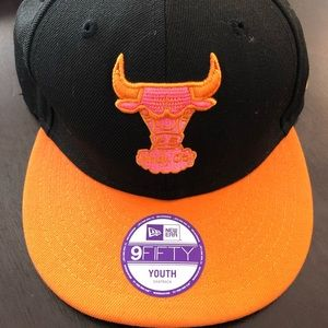 Chicago Bulls New Era Youth SnapBack Hat